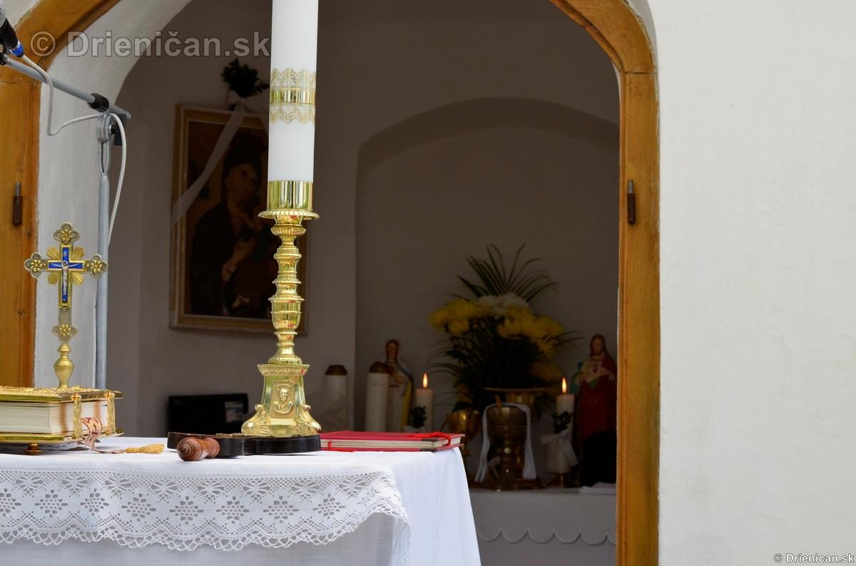 Bohosluzba pri Kaplicke v Drienici,2012_18