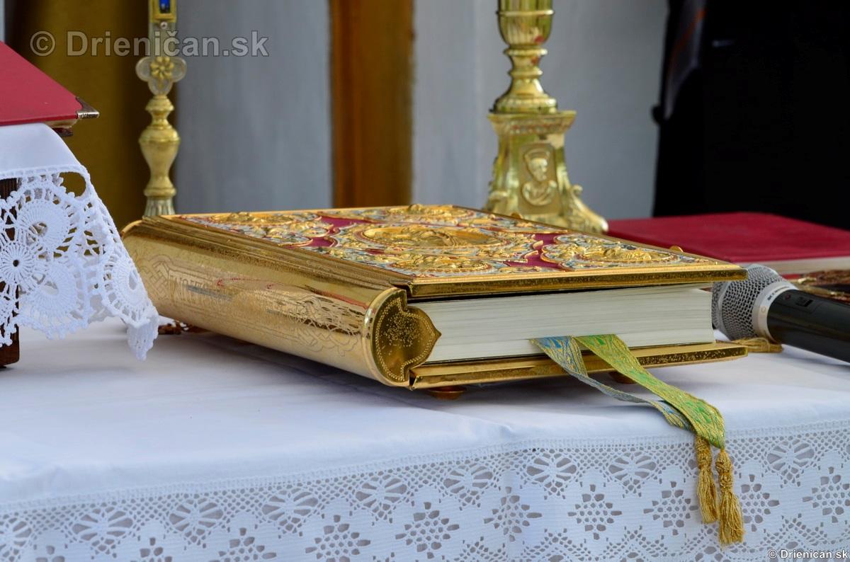 Bohosluzba pri Kaplicke v Drienici,2012_40