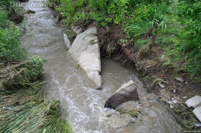 Drienica 3 stupen povodnovej aktivity 8 jun 2012_06