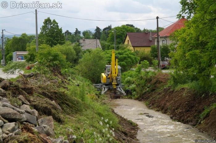 Drienica 3 stupen povodnovej aktivity 8 jun 2012_26