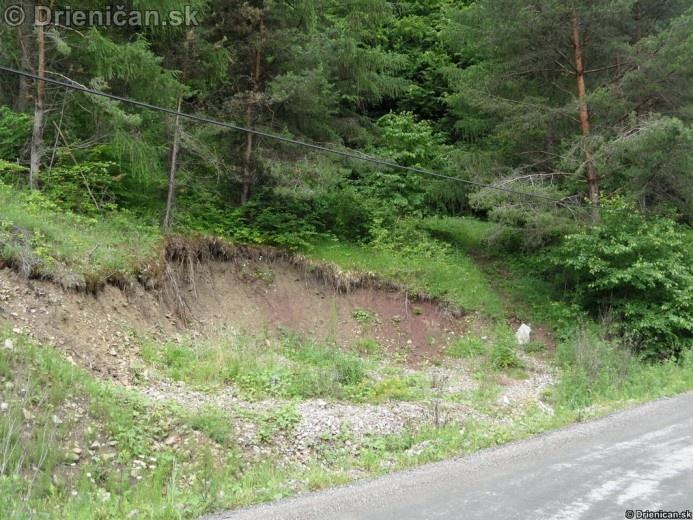 Konský Cintir 2012, zosuv pôdy