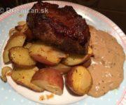 Domáci chutný steak