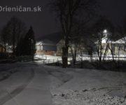 Drienicu zasypal prvý sneh