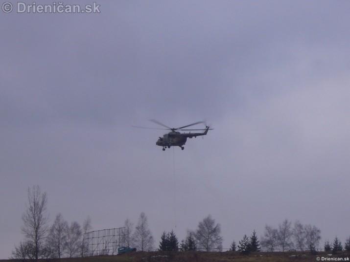 Cvičenie hasičov zo Sabinova a Prešova