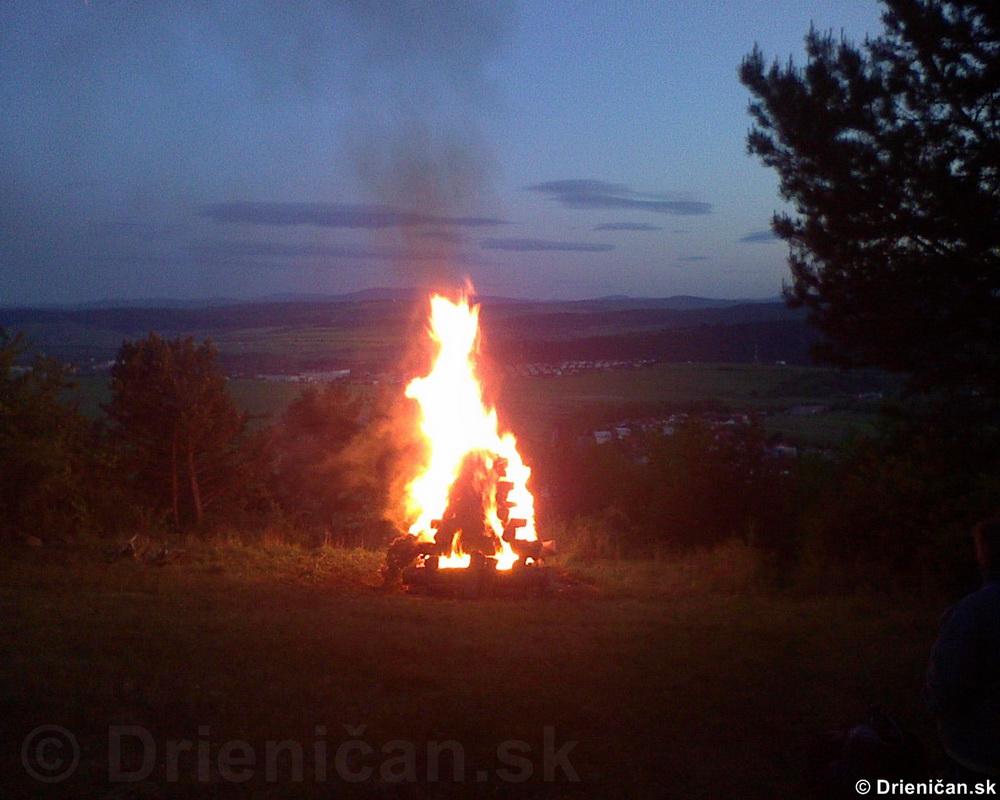 Pálenie vatry 2009