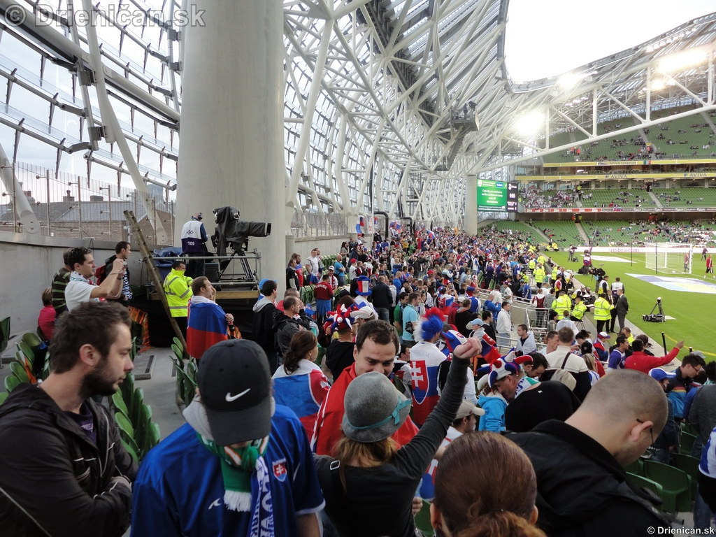 Aviva Stadium Hamsik Slovenskia Ireland
