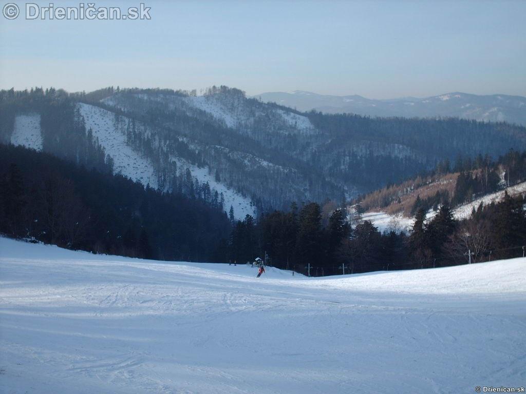 Drienica Lysá zjazdovka, ideálne vysokohorské podmienky na lyžovanie.