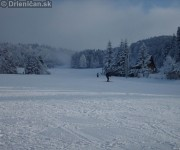 Ideálne podmienky na lyžovanie-Drienica Lysá.
