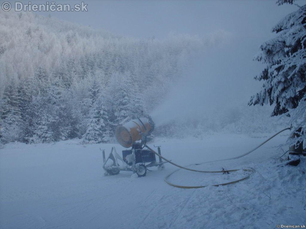 Kde nenadelí matka príroda, pomôžu snežné delá !