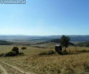 Veľmi pekný pohľad od Hájovej doliny, napravo Drienica v pozadí Sabinov.