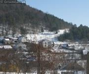Dolná časť obce.