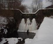 Zamrznutá hreda na Drienici