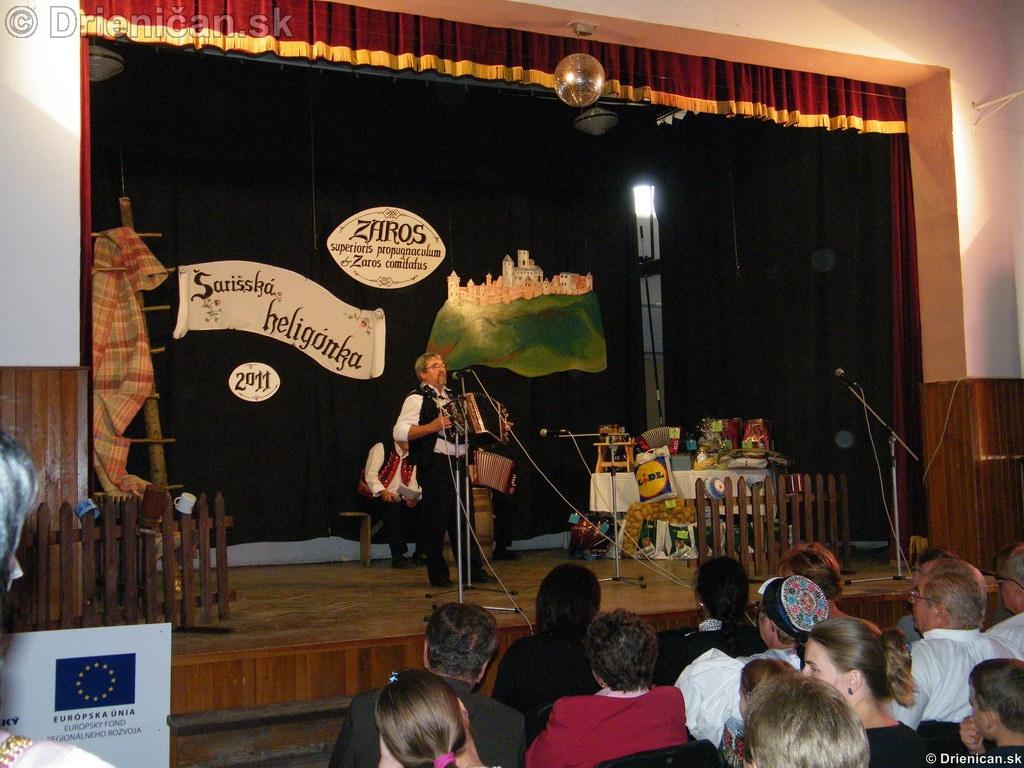 Šarišská Heligónka 2011 Drienica