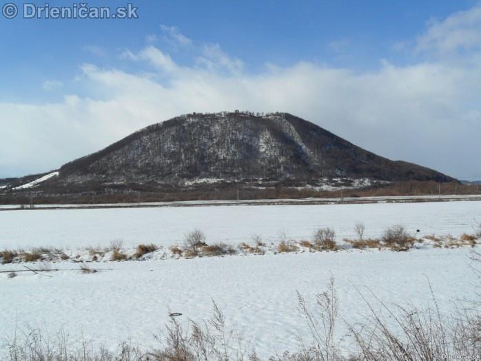 Sarišský Hrad, zima 2012