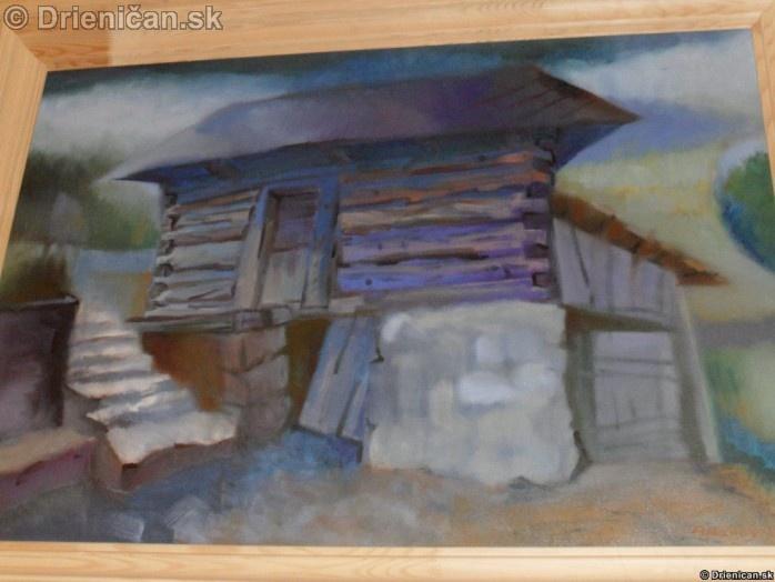 Maľované obrazy Drienica