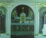 Interiér chrámu narodenia sv. Márie