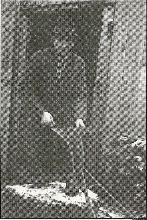 Oprava železnáho pluhu 1953