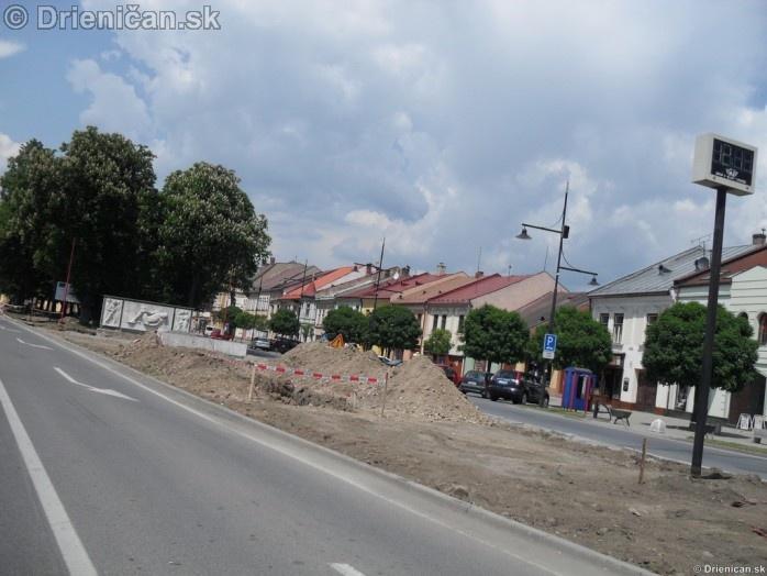 Sabinov centrum mesta