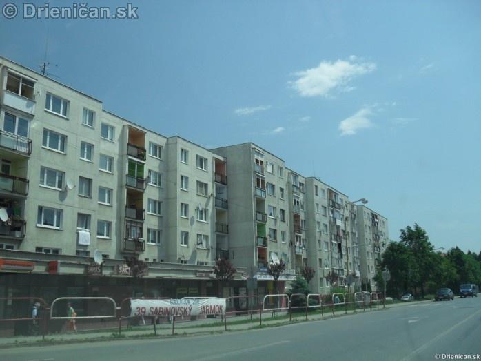 Sabinov Prešovská ulica