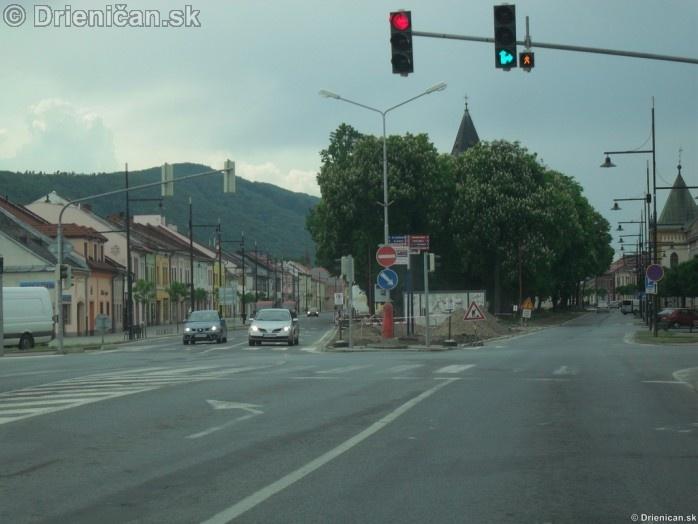 Sabinov centrum a okolie Rekonštrukcia parku