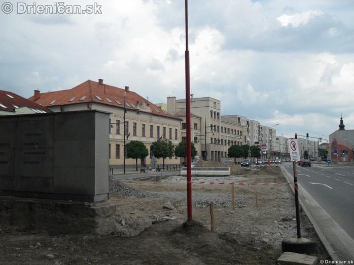 Rekonštrukcia parku Sabinov centrum a okolie