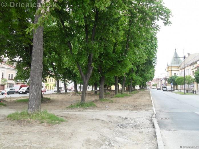 Mesto Sabinov centrum a okolie
