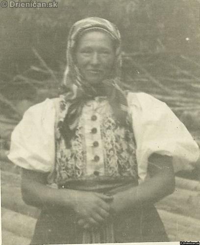 Drieničanka v letnom kroji