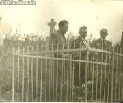 Vzdaná úcta padlému partizánovy