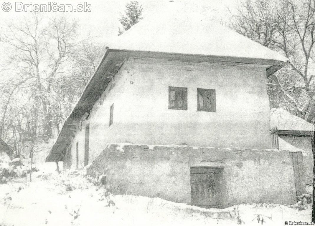 Starý dom Drienica