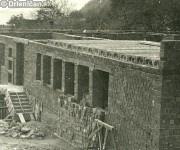 Budovanie Kultúrneho domu v Drienici