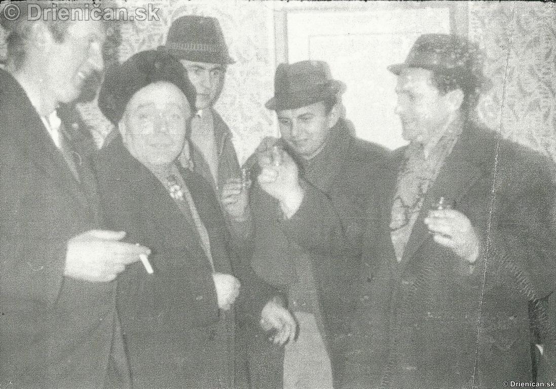 Kapurková, naľavo Ján Sedlák