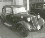 Prvé auto na Drienici,majiteľ pán Šimko