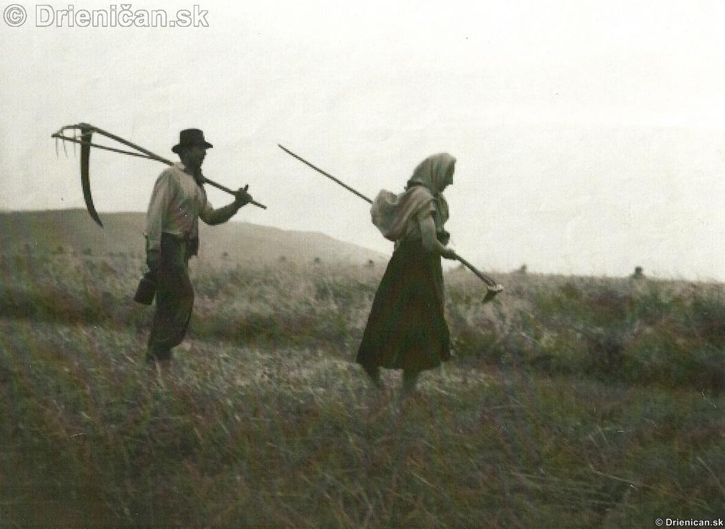 Plná poľná, obraz života onej doby...