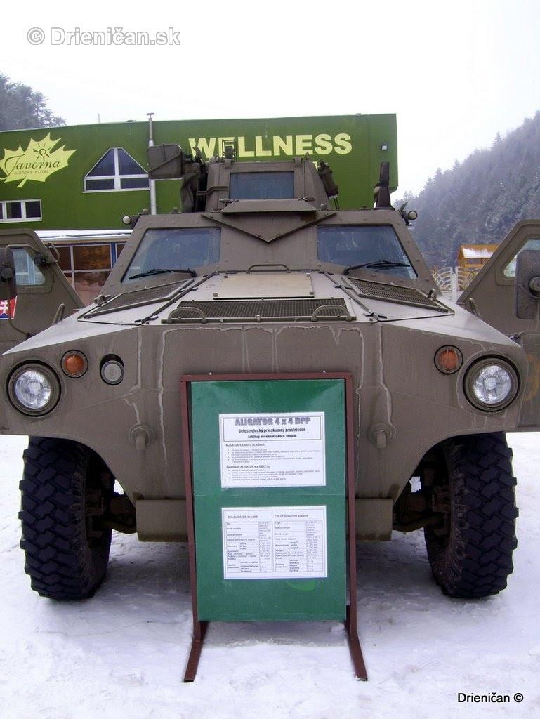 Ukazka vojenskej techniky Drienica 2008_02
