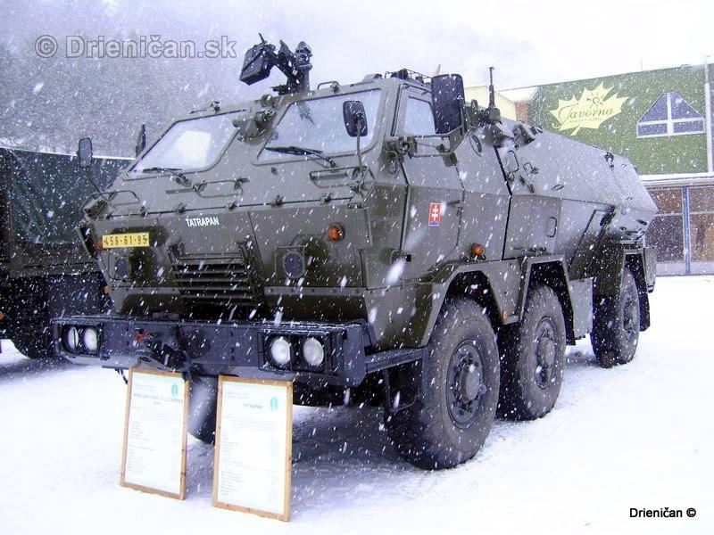 Ukazka vojenskej techniky Drienica 2008_14