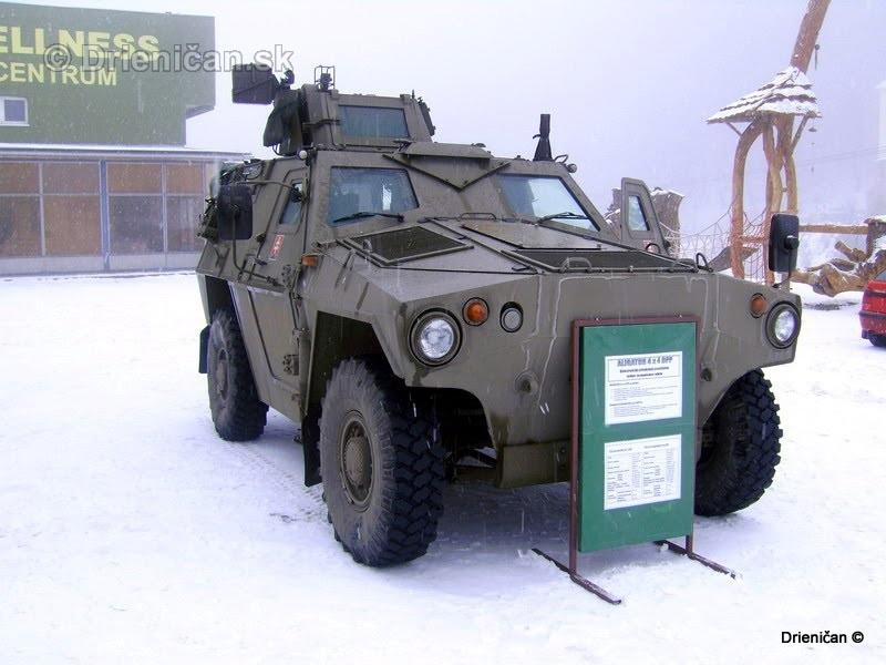 Ukazka vojenskej techniky Drienica 2008_16
