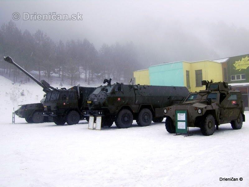Ukazka vojenskej techniky Drienica 2008_18