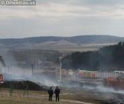 Vypaľovanie trávy Sabinov 2012