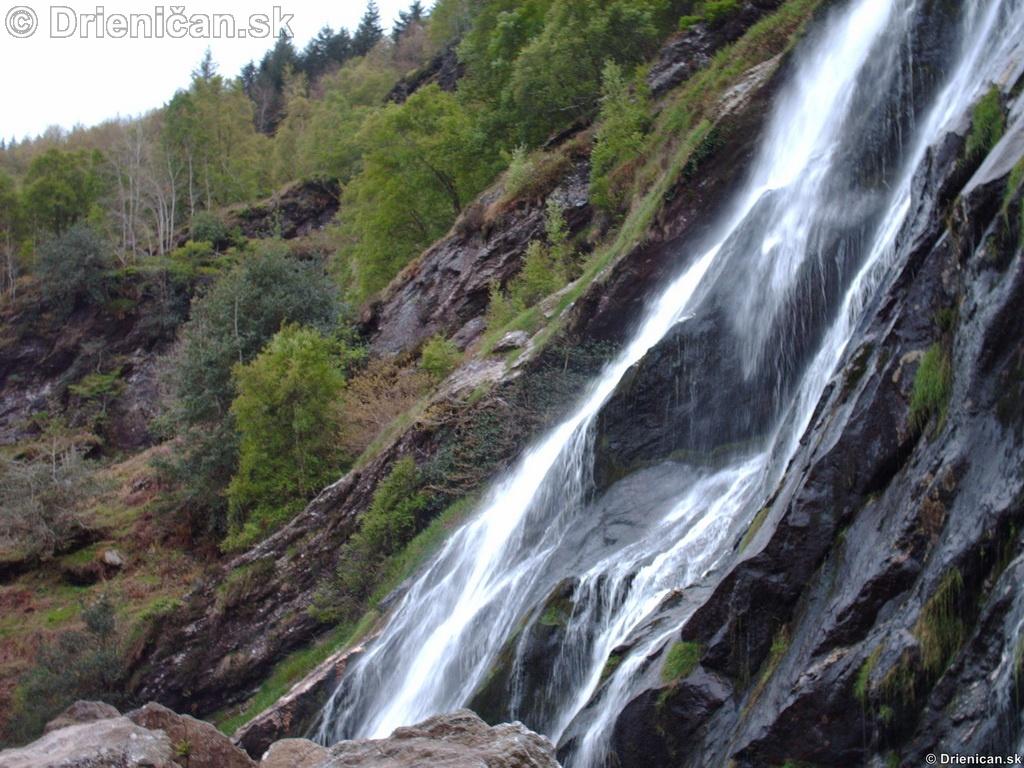 Wicklow Waterfall