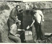 Prvé položené tehly na Kultúrnom Dome v Drienici