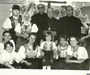 Fotografia z kostola v Drienici