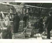 Výstavba kultúrneho domu v Drienici,pomáhali všetci