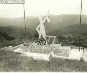 Pomník partizána na Lysej