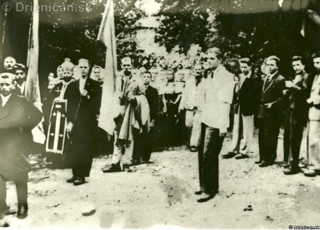 Pohreb partizána,rok neznámy