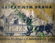 Sbírky NTM Praha Koňská železnice Č. Budejovice...