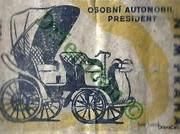 1897,Osobní automobil President-NTM Praha.