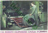 25 rokov,Gumárne 1.Mája Púchov.