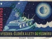 Praha 1963,Výstava človek a lety do vesmíru.