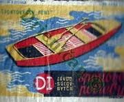 Športový čln Peny,DI,závod Suľov Bytča,-športové potreby.