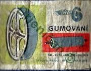 Gumování-Kol-Valcú-Armatur-Cisteren.Závody Praha,Hradec Králové